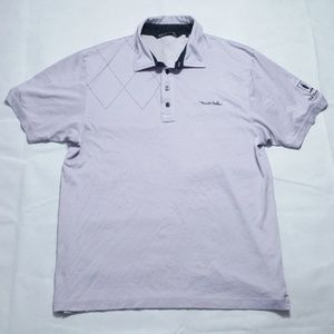 Travis Mathew Old Greenwood Violet  Golf Polo